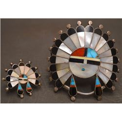 NAVAJO  INDIAN BRACELET AND RING (RAYMOND BECENTI)