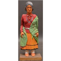 NAVAJO INDIAN FOLK ART DOLL (TOM YAZZIE)