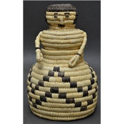 PAPAGO INDIAN BASKETRY FIGURE
