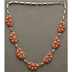 ZUNI INDIAN  NECKLACE (MARY MARIE YAZZIE)
