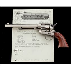 ''D.F.C.'' Inspected Colt Model 1873 Single Action Army Revolver
