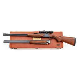 Browning Superposed Shotgun/Rifle 2-Barrel Set