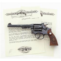 Pre-War SW K-22 Masterpiece Double Action Revolver