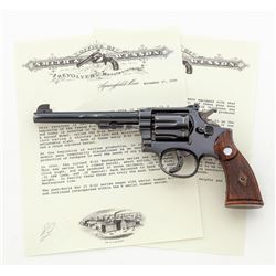 Pre-War SW K-22 Masterpiece Double Action Revolver