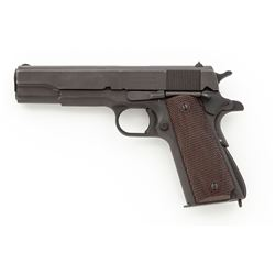 WWII Remington-Rand Model 1911-A1 Semi-Auto Pistol