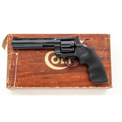 Late '70s Colt Python Double Action Revolver