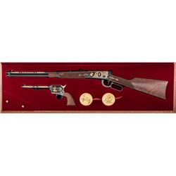 Cased Winchester-Colt 2-Gun Commemorative Set