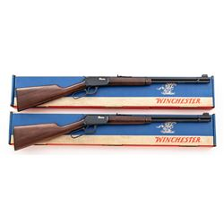 Consec. Pair of Winchester 9422  9422M Lever Action Rifles
