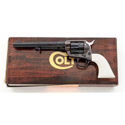 Engraved Colt Theodore Roosevelt Commemorative Revolver