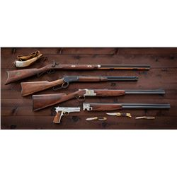Rare Browning 4-Gun Centennial Set with Knife Set