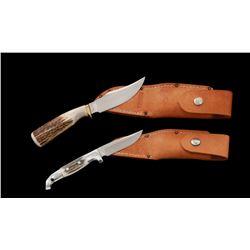 Lot of 2 Ruana Fixed Blade Knives