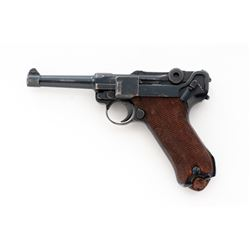 Pre-WWII German P.08 Luger, by Mauser (S/42)