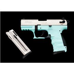 Walther P22 CA Angel Blue Semi-Auto Pistol
