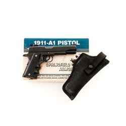 Modified Springfield Model 1911-A1 Semi-Auto Pistol