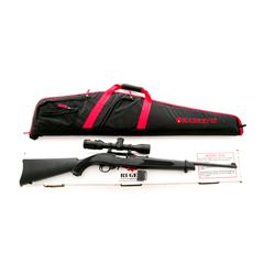 Ruger 10/22 Semi-Automatic Carbine, w/Nikon scope