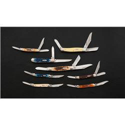 Lot of 8 New Case ''Stockman''  Copperhead'' Knives