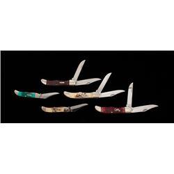 Lot of 5 New-in-Box Case ''Hunter'' Knives