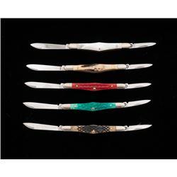 Lot of 5 Case Folding Knives