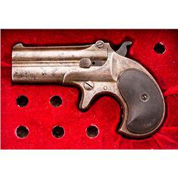 Cased Remington O/U Double Derringer