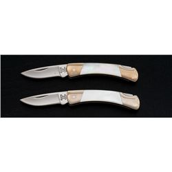Lot of 2 Limited Edition Buck 507 Ultima Knives