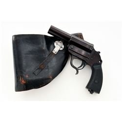 WWII Walther Model 1928 Heer ac42 Flare Pistol