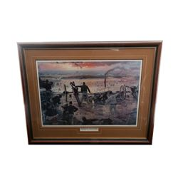 D. Gallon Print: ''Hazlett's Battery''