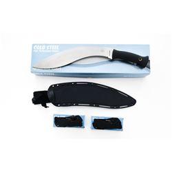 Lot of 2 Folding Knives  1 Gurkha Kukri