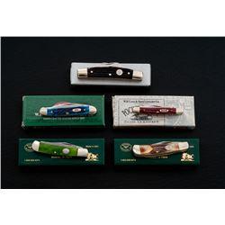 Lot of 5 Knives - Case, Moore, Boker