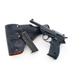 Walther P1 Semi-Automatic Pistol, w/holster