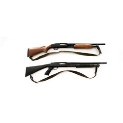Lot of Two (2) Mossberg Pump Action Shotguns