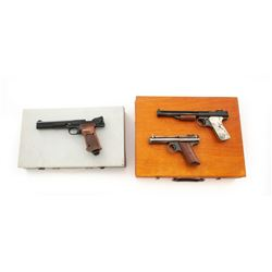 Lot of 3 Air Pistols: 2 B.Franklin  1 SW