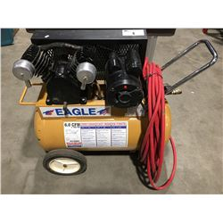 EAGLE P3120H1 MAXIMUM PERFORMANCE AIR COMPRESSOR WITH APPROX. 100' AIRLINE HOSE