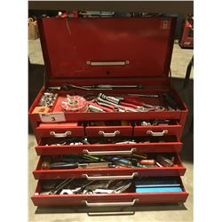 MASTERCRAFT MECHANICS TOOL CHEST & CONTENTS (RED)