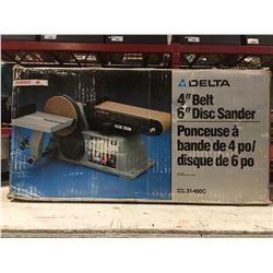 """DELTA 4"""" BELT/6"""" DISC SANDER"""