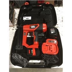 BLACK & DECKER CORDLESS FINISHING NAILER