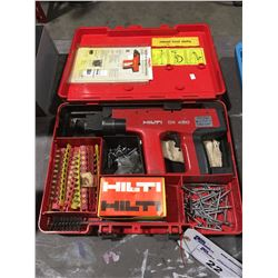 HILTI DX450 CONCRETE & STRUCTURAL STEEL FASTENING GUN