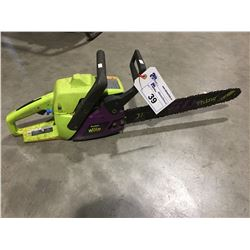 POULAN WILDTHING CHAINSAW