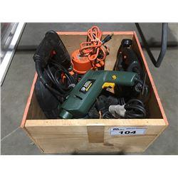 1 BOX OF BLACK & DECKER POWER TOOLS