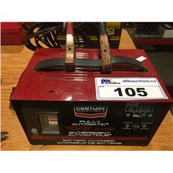 CENTURY FULLY AUTOMATIC BATTERY CHARGER