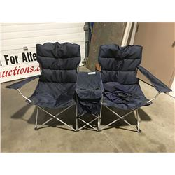 2-SEATER FOLDING CAMP CHAIR