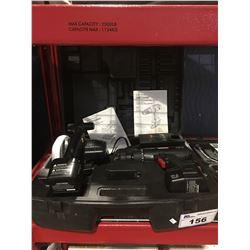 CRAFTMAN CORDLESS TOOL SET - DRILL-DRIVER/TRIM SAW