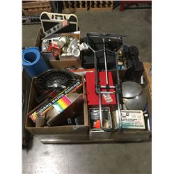 PALLET LOT OF ASSTD TOOLS, HARDWARE & MISC. - B