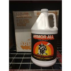 4 X 1-GAL CONTAINERS OF ARMOR ALL PROTECTANT