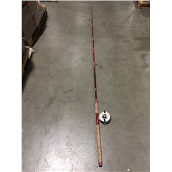 OPEN ROAD FISHING ROD WITH DIAWA 275 CENTER PIN REEL
