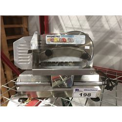 WARING PRO ELECTRIC FOOD SLICER