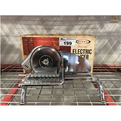 RIVAL CHROME ELECTRIC SLICER