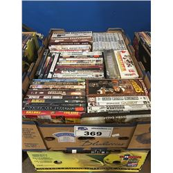 2 BOXES APPROX 150 DVD'S (B)