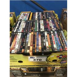 2 BOXES APPROX 150 DVD'S (C)