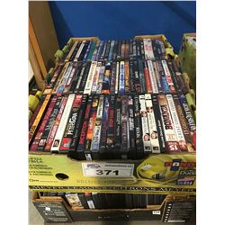 2 BOXES APPROX 150 DVD'S (D)