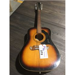 FRAMUS 12 STRING ACOUSTIC GUITAR MODEL # 51286 S/N# 37437 MADE IN WEST GERMANY - WITH HARD CASE